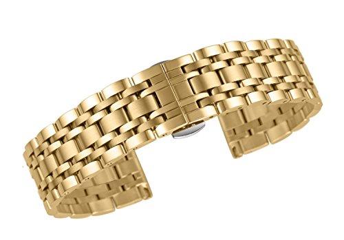 delstahl UhrenarmbandDamen Gold ()