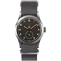 Wartime watch Royal Air Force (Replica Historic Clock Broad Arrow RAF II World War)