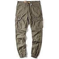 Moda casual hombres es día estilo, haren pantalones hombres pantalones casuales,Gray,Treinta y cuatro