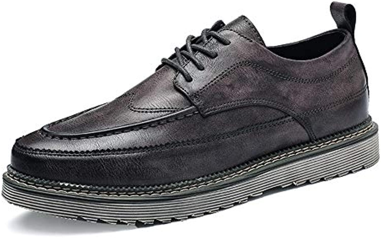Hongjun-scarpe Scarpe Uomo 2018, Allacciatura Comfort da Uomo Nuova Moda Vintage Semplice Suola Oxford Professionale... | Buon design  | Sig/Sig Ra Scarpa