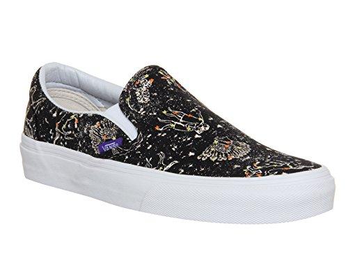 Vans U Classic Slip-on Overwashed, Unisex-Erwachsene Sneakers Liberty Zodiac Black