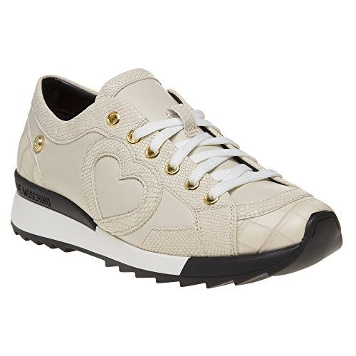 Love Moschino Croc Print Damen Sneaker Neutral Neutral