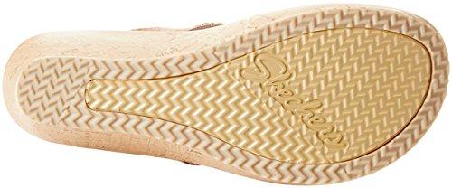 Skechers Ladies Beverlee-bizzy Sandali Bambina Marrone (tan)