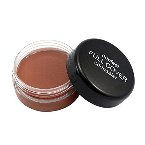 Toamen Popfeel Corrector De Maquillaje Facial Corrector Hidratante Cremoso De La Paleta De La FundacióN (D)