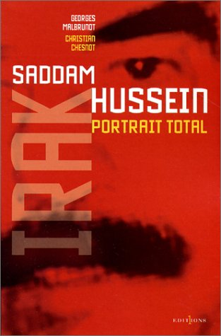 Book's Cover of Saddam Hussein : Portrait total