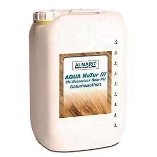 Almarit Aqua NaTur 10 Liter 2K-Parkettsiegel wasserbasiert Naturholzoptik