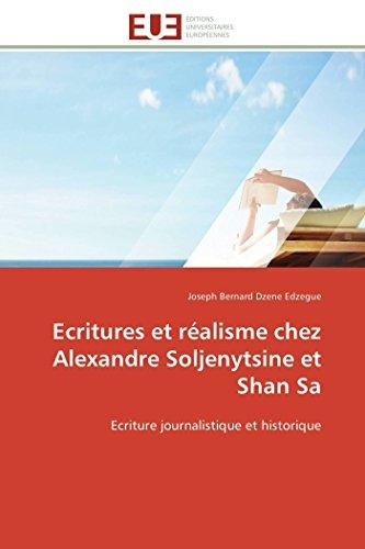 Ecritures et réalisme chez alexandre so...