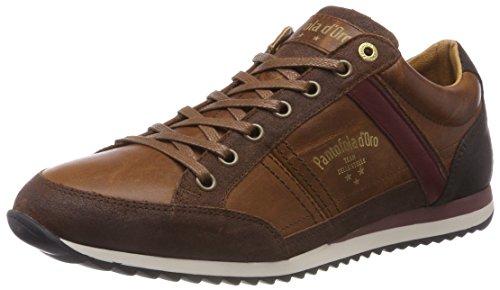 Pantofola d'Oro Matera Uomo Low, Sneaker, Marrone (Tortoise Shell .JCU), 41 EU