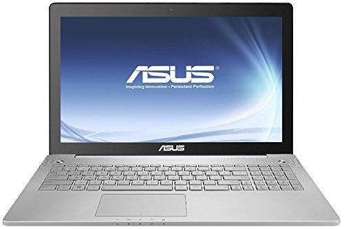 Asus N550JK-CN110H 39,6 cm (15,6 Zoll) Laptop (Intel Core i7 4700HQ, 2,4GHz, 16GB RAM, 1TB HDD, NVIDIA GTX 850M, DVD, Win 8) silber (Asus I7-4700hq Notebooks)