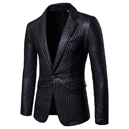 Stadt Party Kostüm Tris - friendGG Herren Mode Selbstkultivierung Und Bright Faced Suit Pure Color Coat Anzug Party KostüM Modisch Normaler Schnitt Festliche AnzüGe Party Suits Einfarbig Tops Bluse Shirt T-Shirt