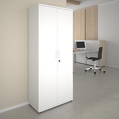Büroschrank abschließbar  Profi Aktenschrank Abschließbar 5 Oh Weiß Schrank Büroschrank  Flügeltürenschrank