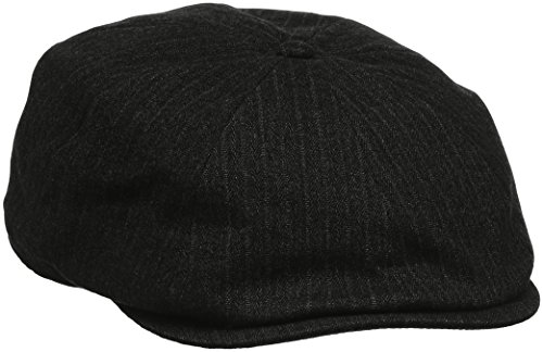 Kangol Suited Ripley Gorra, Gris (Dk Flannel), Small para Hombre
