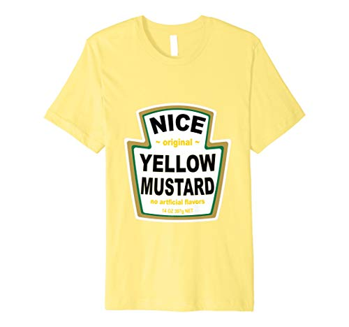 Senf Kostüm T Shirt Passende Ketchup Mayo Relish Gruppe
