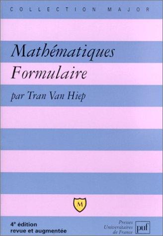 Mathmatiques : Formulaire