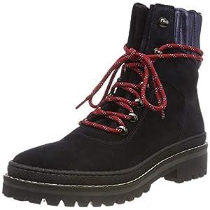 41W97YRVl5L. SS300  - Tommy Hilfiger Women's Modern Hiking Boot Suede Combat
