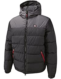 Lee Cooper Workwear Padded Jacket, LCJKT432 schwarz/grau L