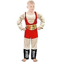 Partylandia Disfraz de Forzudo Infantil - Niño, de 10 a 12 años