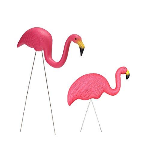 Flamingo Figur Plastik Party Garten Ornamente Dekor (Flamingo Ornament)