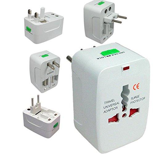 Voltac Universal International Travel Adapter Plug Surge Protector Europe/UK/US/China. Model 377522