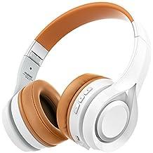 NUBWO S1 Bluetooth 4.1 Inalámbrico Auriculares Plegable Estirable Multi-fonction Cancelación de Ruido con Micrófono en Línea y Audio Compatible con Smartphone / Tableta / PC / Smart TV (Blanco)