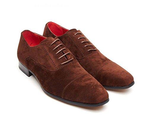 Rossellini , Chaussures de ville à lacets pour homme Gris