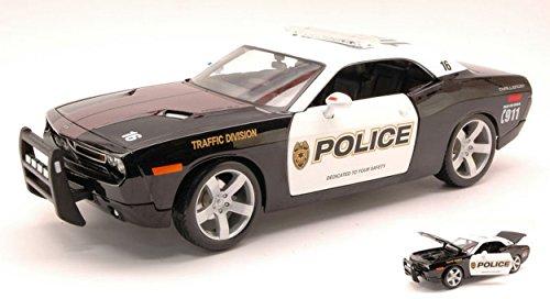 maisto-mi31365-dodge-challenger-police-118-modellino-die-cast-model