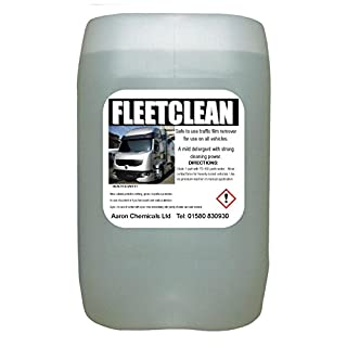 TRAFFIC FILM REMOVER TFR 25L fleetclean non caustic (NEW TO AMAZON SPECIAL PRICE) same day despatch! BEST SELLER!