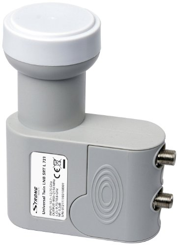 Strong SRT L 721Universal Twin LNB for Digital SD and HD (3D) Reception Unit Twin Output for Direct Connection to 2Receivers Test