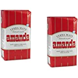 Pack incluye 2 Yerba mate Amanda Roja 500gr