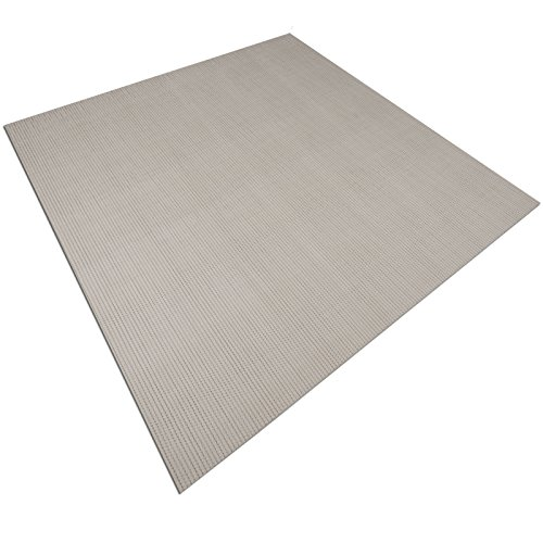 casa pura Palermo Jute Style Non Slip Protective Mat   For Office Chairs etc.   90x120cm   6 Sizes