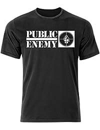 Public Enemy Hip Hop T Shirt (S-3XL) Rap NWA / Run DMC Old Skool