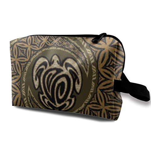 Tapa Honu Turtle Deluxe Portable Travel Makeup Cosmetic Bags Organizer Multifunction Case Toiletry Bags -