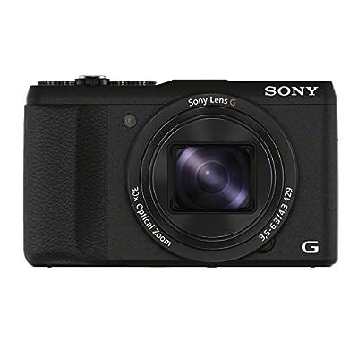 Sony DSC-HX60 Digitalkamera (20,4 Megapixel, 30-Fach Opt. Zoom, 7,5 cm (3 Zoll) LCD-Display, Exmor R CMOS Sensor, NFC/WiFi) Schwarz