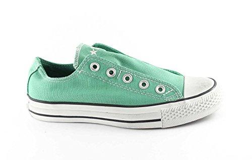 CONVERSE 133063C leprechaun d verde scarpe unisex ct slip basse elastico 38 Verde