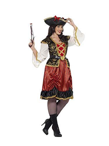 Smiffys 24454L - Damen Piraten Lady Kostüm, Größe: 44-46, ()