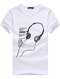 Camiseta, Oyedens Muchachos del muchacho más la camiseta de las camisetas de la impresión del tamaño manga corta de la camiseta del algodón de la manga remata