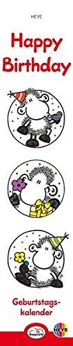 Sheepworld Geburtstagskalender Mini-long