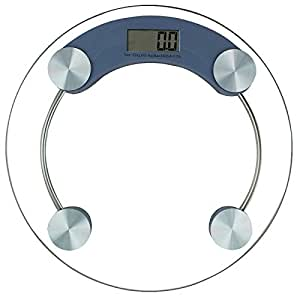 180 KG DIGITAL ELECTRONIC GLASS LCD BATHROOM BODY WEIGHING SCALE MEASURING SCALE 901 - HUMLIN BRANDED