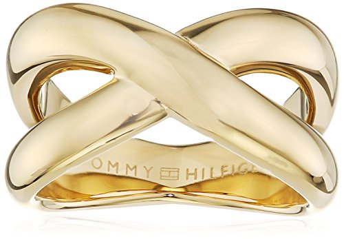Tommy Hilfiger Jewelry Damen-Ring Classic Signature Edelstahl Gr. 52 (16.6) - 2700964B