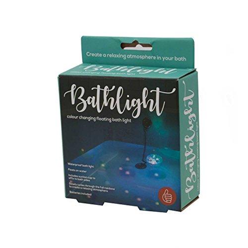 Novelty bathlght Stimmungslicht für ein entspannendes Bad (Variation von Farbe) Kunststoff Mehrfarbig 8x 8x 3cm