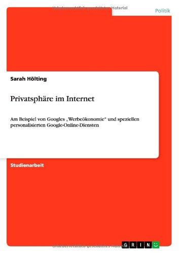 Privatsphäre im Internet