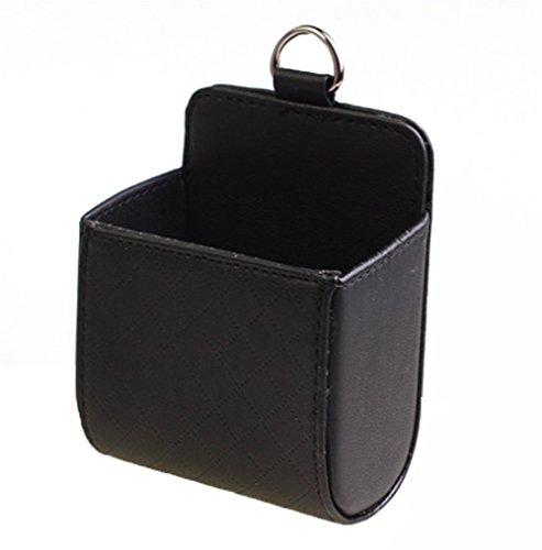 1x chytaii automobilistica fornisce una uscita d' aria cortex di sacchetto di archiviazione scatola portaoggetti multifunzione nero nero