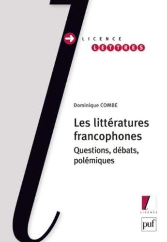 Littératures francophones par Dominique Combe