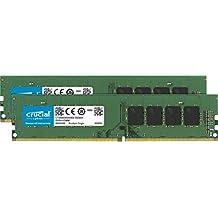 Crucial 8Go Kit (4Gox2) DDR4 2133 MT/s (PC4-17000) SR x8 DIMM 288-Pin - CT2K4G4DFS8213
