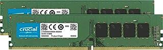 Crucial CT2K16G4DFD824A - Kit de Memoria RAM de 32 GB (16 GB x 2, DDR4, 2400 MT/s, PC4-19200, Dual Rank x 8, DIMM, 288-Pin) (B019FRCQAK) | Amazon price tracker / tracking, Amazon price history charts, Amazon price watches, Amazon price drop alerts