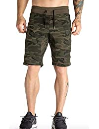LionRoar Men's Camouflage/Military Printed Cotton Shorts
