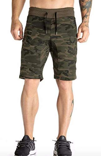 LionRoar Men's Camouflage/Military Printed Cotton Shorts (XXL, Camo 1)