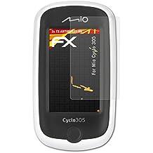 atFoliX Folie für Mio Cyclo 305 Displayschutzfolie - 3 x FX-Antireflex-HD hochauflösende entspiegelnde Schutzfolie