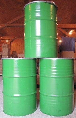 feuer tonne 200 Liter Metallfass Metalltonne Tonne Brenntonne Regenfaß