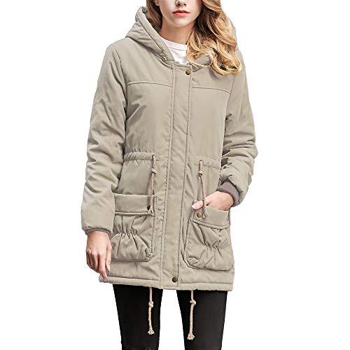 (i-uend 2019 Damen Mantel, Ärmel Blazer Kurz Strickjacke Jacke Arbeit Büro Mantel Frau Herbst Winter Jacke Trenchcoat Jacke Sweatjacke Winter Warm Jacke)
